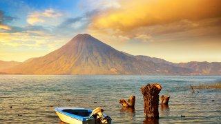 The volcanoes of Guatemala