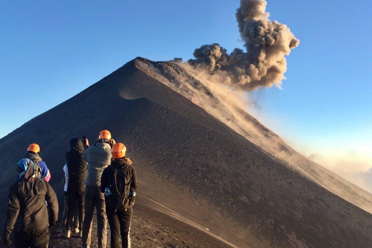 Volcano tour in Guatemala